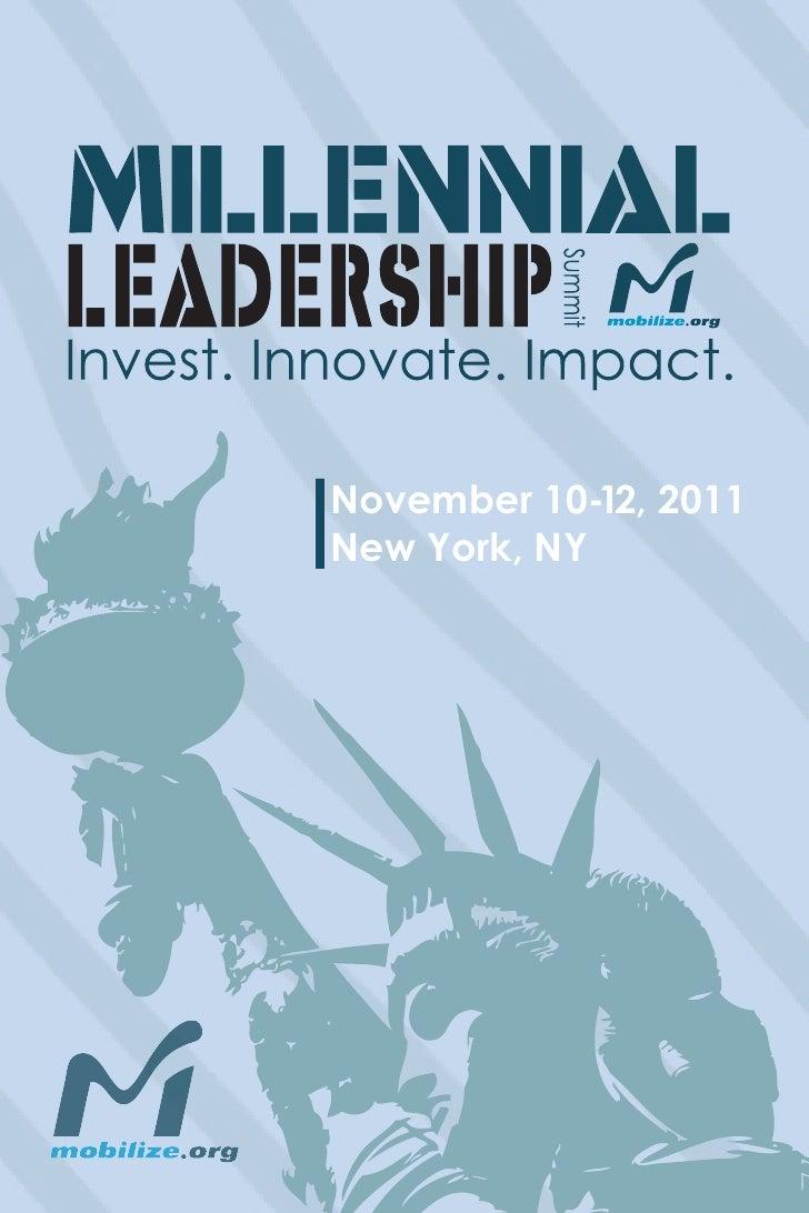 November 10-12, 2011New York, NY