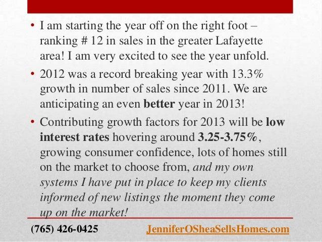 MLS Residential Real Estate Statistics (Current Lafayette/West Lafayette/Tippecanoe County) Slide 2