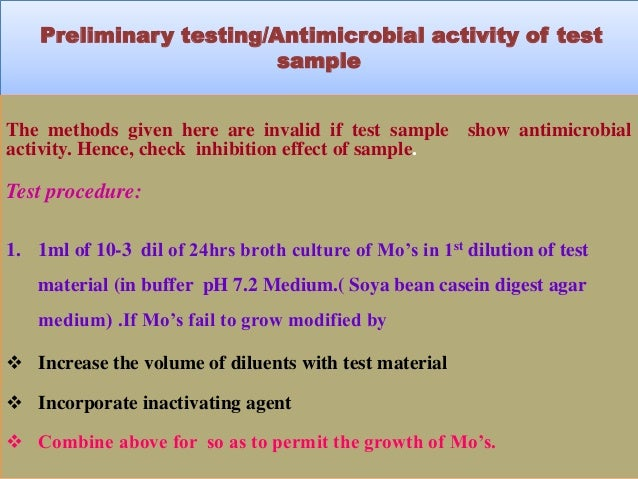 microbial limit test for pharmaceutical products pdf