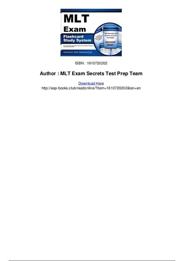 Clinical Laboratory Technician Exam Secrets Study Guide