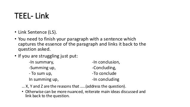 structure of a conclusion in a persuasive essay