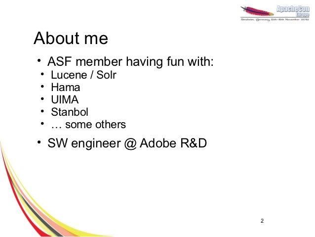 Machine learning with Apache Hama Slide 2