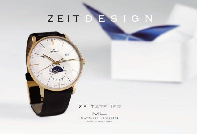 uNSErE WErTE  Präzise und zuverlässig – das trifft nicht nur auf unsere erlesene Auswahl an  Uhren, sondern auch auf unser...