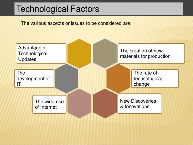 what are technological factors