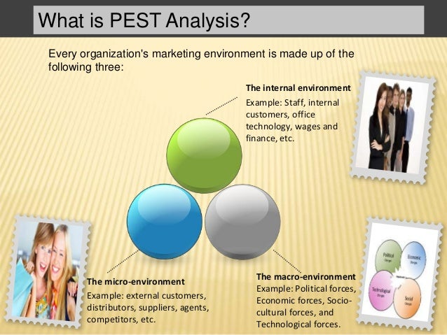 Marketing Management  Pest Analysis