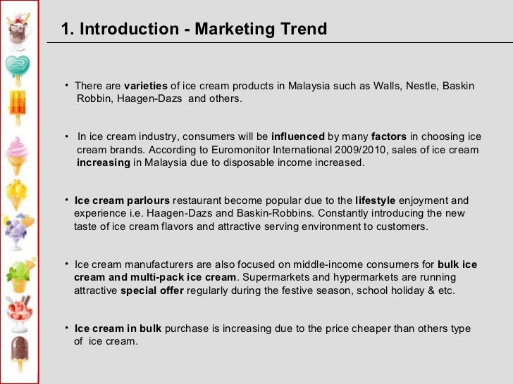 questionnaire on market potential for icecream Determining your market potential is the first step to understanding market potential to properly you will not be able to accurately answer these questions.