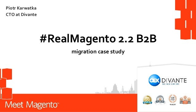 Magento 2 2 B2B, Pimcore, Open Loyalty - features and case study