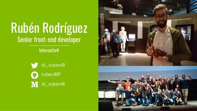 #MM17ES - Theming en Magento 2 usando un framework de front-end Slide 2
