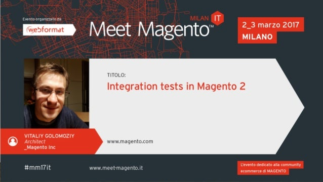 ABOUT MYSELF • Architect and SME for Magento U • Working in Magento for more than 8 years