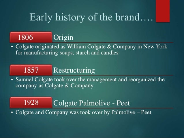colgate palmolive brand positioning Colgate-palmolive filed a lawsuit alleging trademark infringement in the southern producing travel-sized toothpaste products under the colgate brand for several.