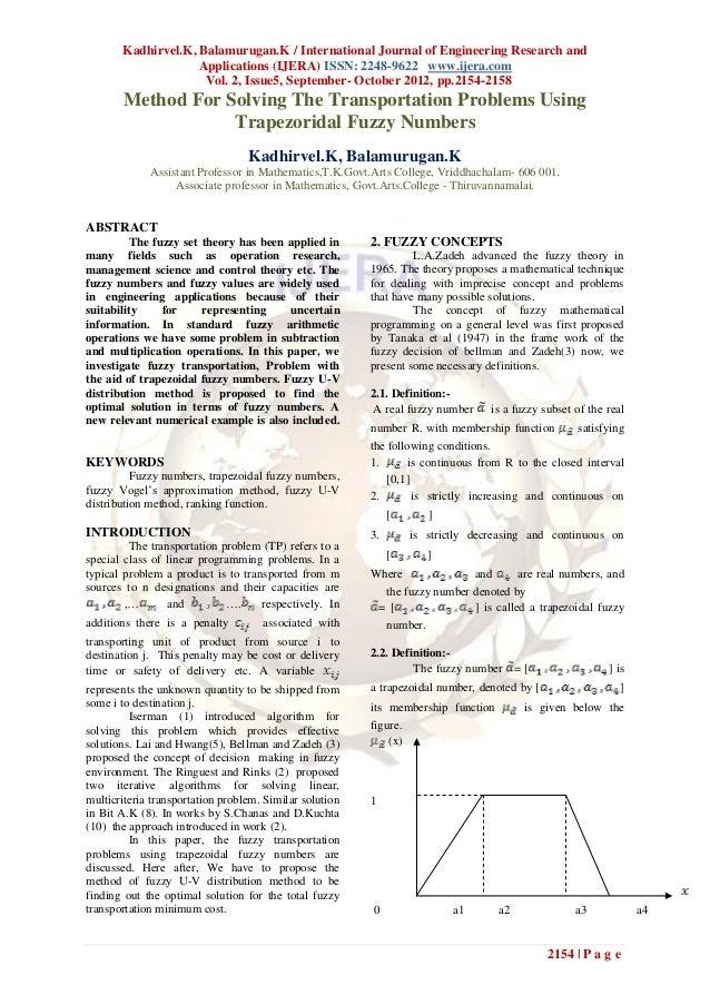 Kadhirvel.K, Balamurugan.K / International Journal of Engineering Research and                    Applications (IJERA) ISS...
