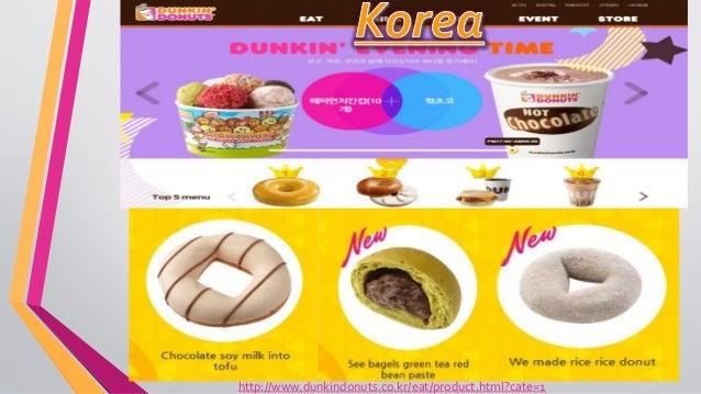 international public relations - dunkin' donuts -