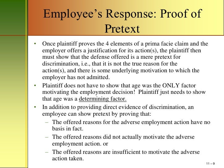 mm chapter age discrimination power point outline  9