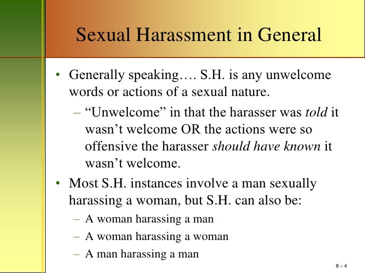 Persuasive essay on sexual harassment