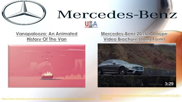 analysis of marketing strategy of mercedes benz Are utilized in a convergent analysis to select the best hierarchical  may see the  mercedes as a part of the luxury car market in which cadillac  lincoln.