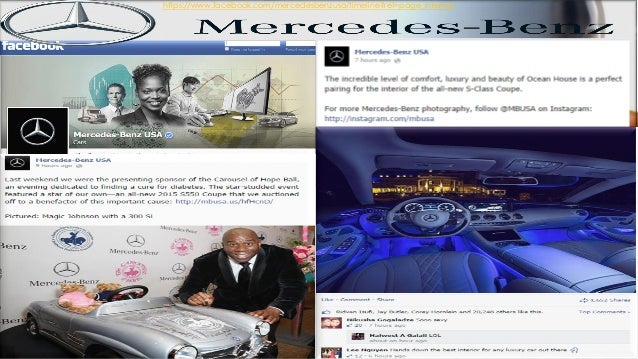 Advertising and public relations strategies mercedes benz for Mercedes benz corporate number