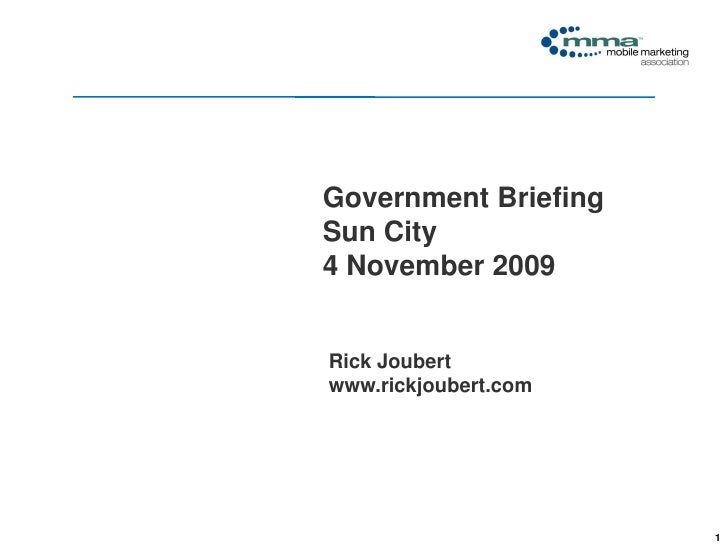 Click to edit Master title style                                   Government Briefing                               Sun C...