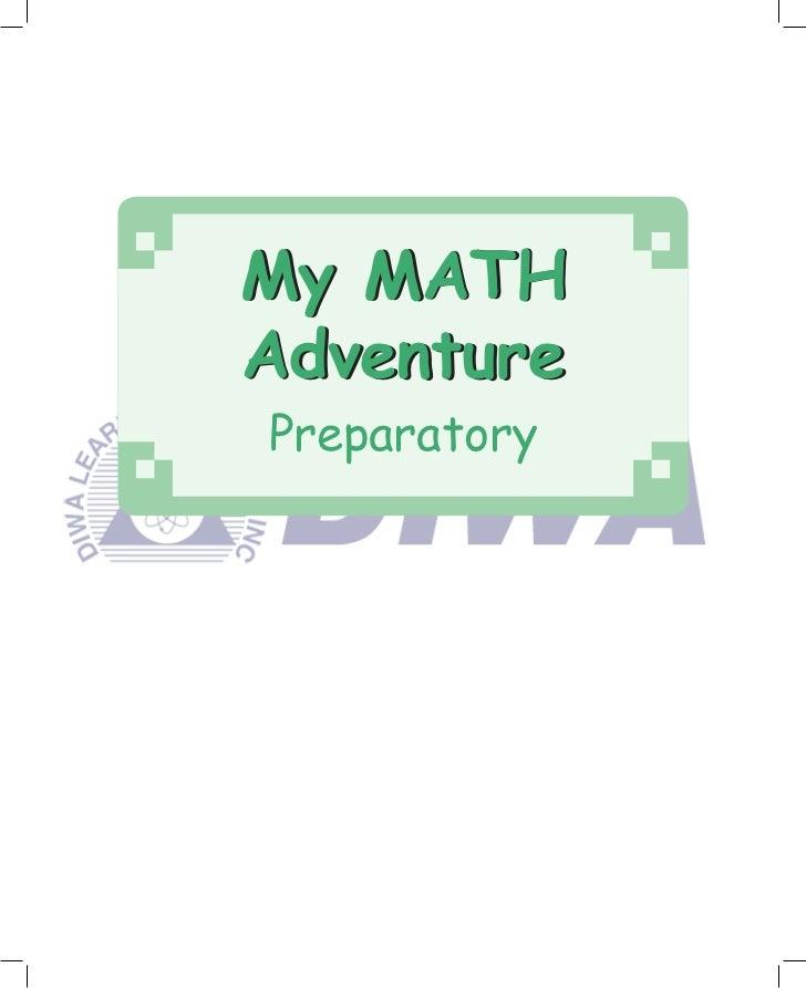 My MATHAdventurePreparatory