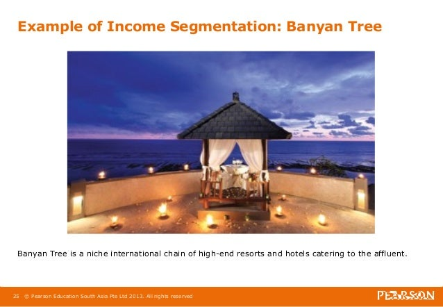 banyan tree market segmentation Market segmentation in the restaurant industry is the practice of targeting a specific customer base to maximize sales, even if it means alienating other potential customers.