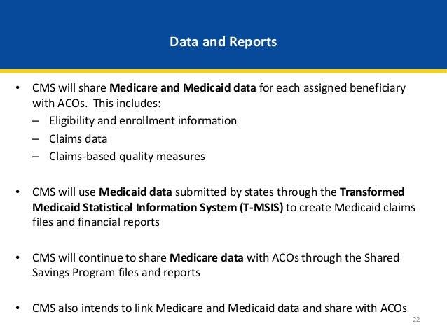Webinar medicare medicaid accountable care organization aco model medicaid shared savingslosses 21 22 ccuart Images