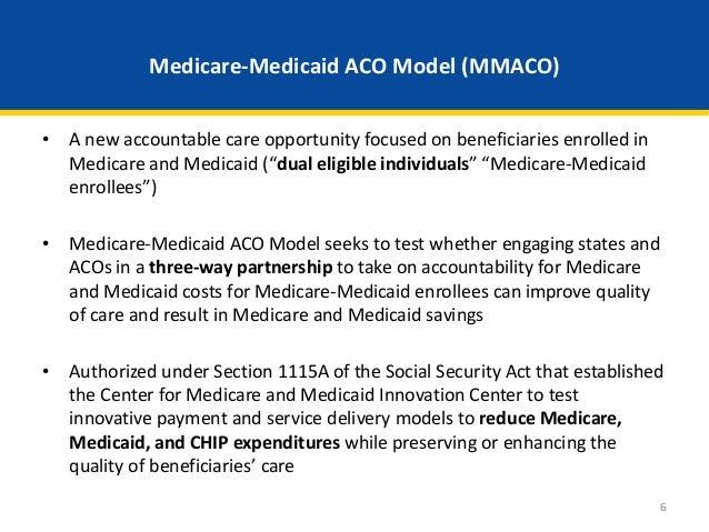 Webinar medicare medicaid accountable care organization aco model medicare medicaid ccuart Images