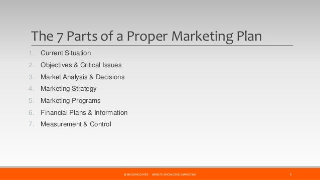 spare parts marketing plan