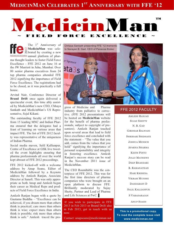MedicinMan 1st Anniversary Special Offer Slide 2