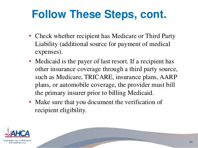 check for medical eligibility