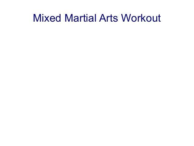 Mixed Martial Arts Workout