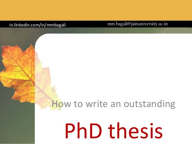 Phd business management thesis