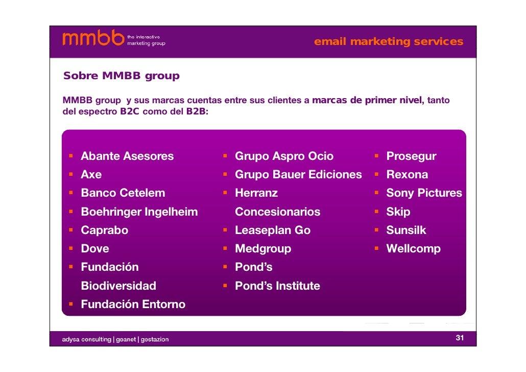 mmbb e mail marketing services. Black Bedroom Furniture Sets. Home Design Ideas