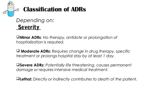 adverse drug reaction thesis Clinical and translational science institute / ctsi • recognize a suspected adverse reaction may be considered a serious adverse drug.