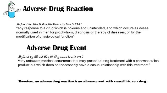 adverse drug reactions essay Adverse drug reactions from antibiotic exposure occur in one out of every five patients, according to two large studies of patients in the community and hospitalized patients, respectively.