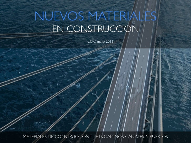 Nuevos materiales en construcci n - Materiales de construccion tarragona ...
