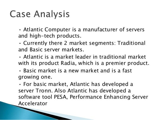 atlantic computer case analysis