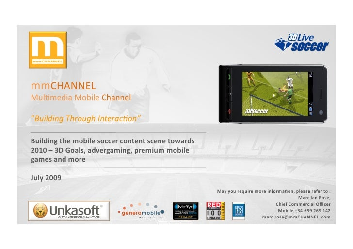 """mmCHANNEL     Mul,media  Mobile  Channel    """"Building  Through  Interac2on""""    Building  the  mobile ..."""