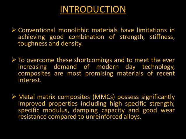 Phd thesis on metal matrix composites; ..