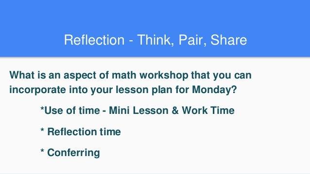 Making Math Workshop Work for You