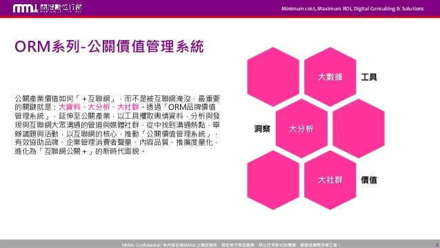 【MMdc 課程】ORM 系列-公關價值管理系統 Slide 2