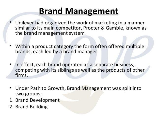 dove evolution of a brand case study solution