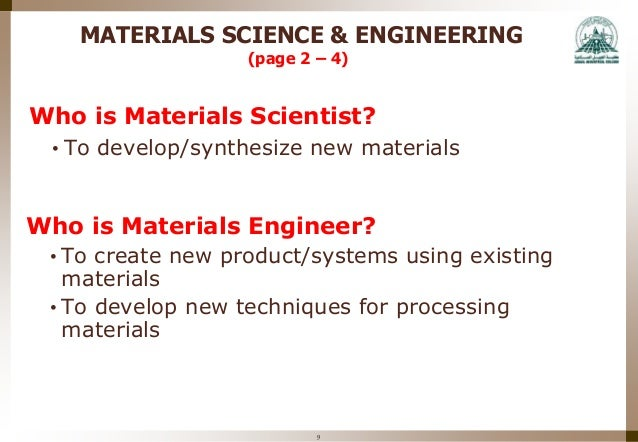 engineering materials week 10 Week 10 instructional materials - free download as powerpoint presentation (ppt / pptx), pdf file (pdf), text file (txt) or view presentation slides online.