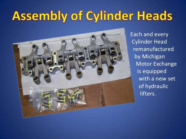Remanufactured Cylinder Head
