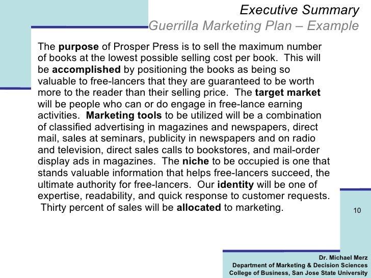 How To Write A Killer Marketing Plan