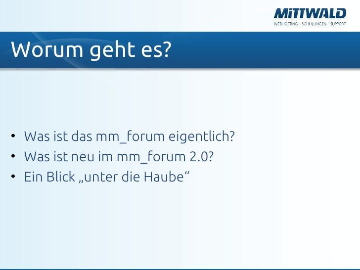 mm_forum 2.0 Slide 2