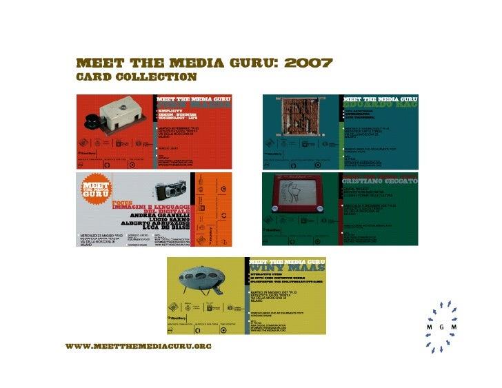 Meet The Media Guru 2009- ENG, by MGM Digital Communication