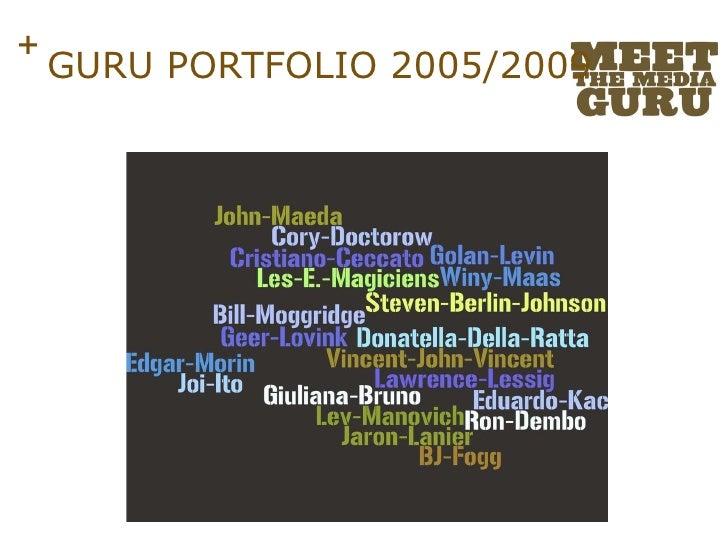 GURU PORTFOLIO 2005/2009