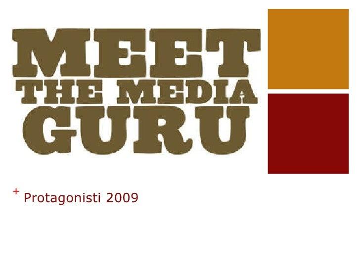 Protagonisti 2009