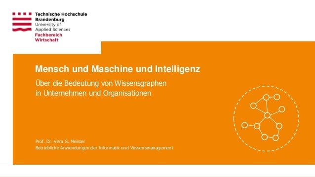 Technische Hochschule Brandenburg • Studiengang Wirtschaftsinformatik Seite 1 Prof. Dr. Vera G. Meister Betriebliche Anwen...