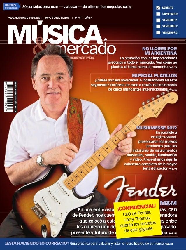 Musica & Mercado #40