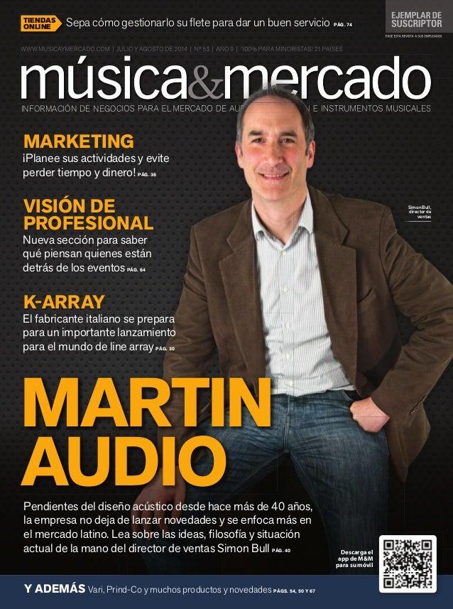 INFORMACIÓN DE NEGOCIOS PARA EL MERCADO DE AUDIO, ILUMINACIÓN E INSTRUMENTOS MUSICALESINFORMACIÓN DE NEGOCIOS PARA EL MERC...